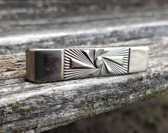 Rustic and Minimalistic Groomsmen Gifts and Wedding Accessories Wooden Pin and Tie Tack Benin Flag Lapel Pin