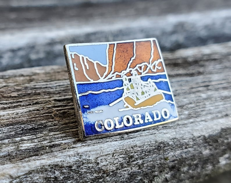 Collectable Vintage Colorado State Pin Americana Anniversary Gift Birthday Gift.