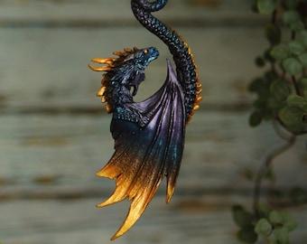 Sunrise Sil'Dragi dragon pendant
