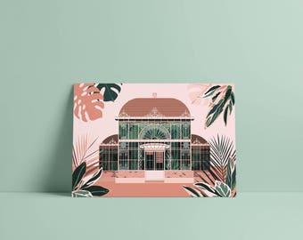 Nantes Palmarium carte postale