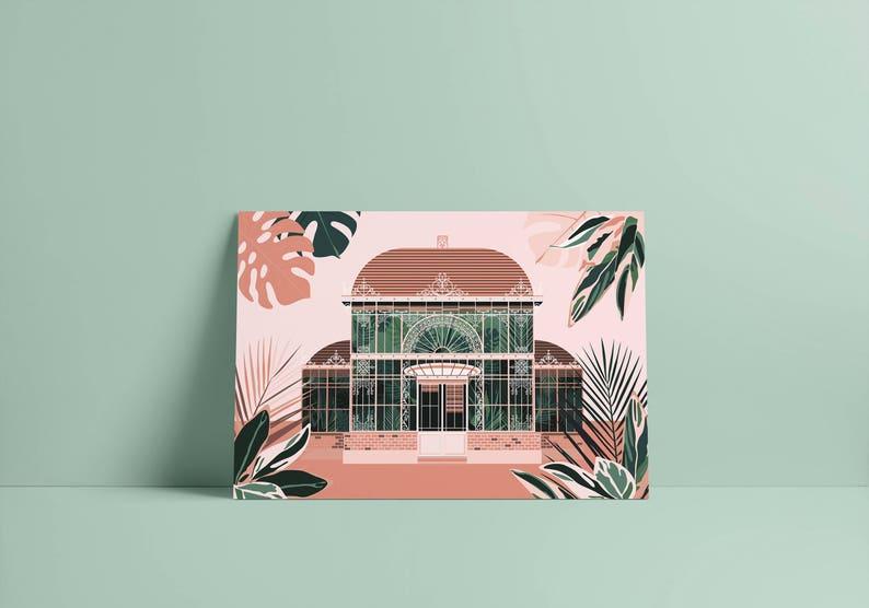 Nantes Palmarium carte postale | Etsy