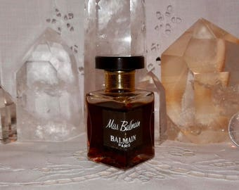 30ed1c38 Balmain, Miss Balmain, 15 ml. or 0.50 oz. Flacon, Parfum Extrait, 1967,  Paris, France .