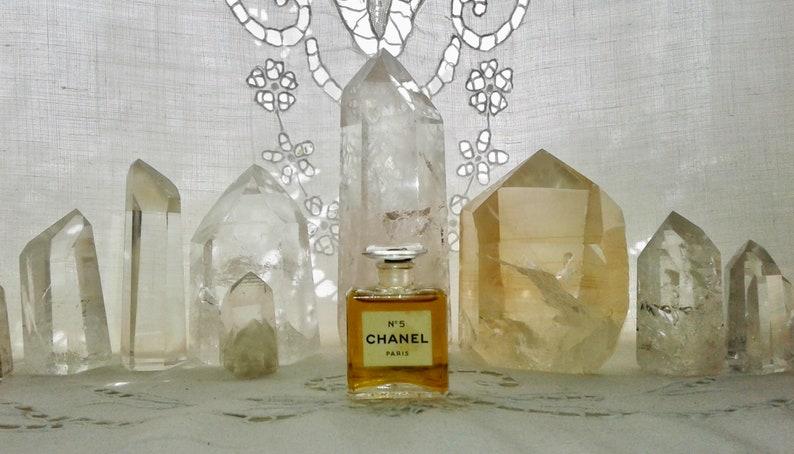 Chanel No 5 75 Ml Or 025 Oz Flacon Parfum Extrait Etsy