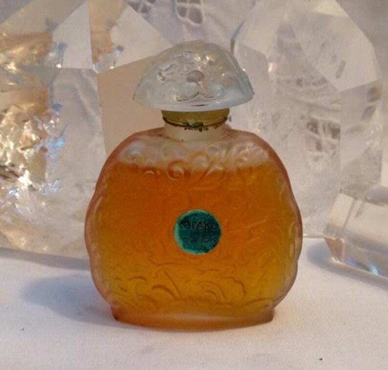 Bourjois Kobako 25 Ml Or 085 Oz Flacon Parfum Extrait Etsy