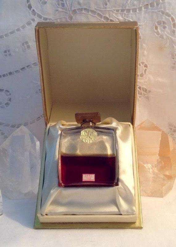 Coty, L'Origan, Decant Sample from Flacon, Essence, Parfum Extrait, Lalique, 1905, Paris, France ..