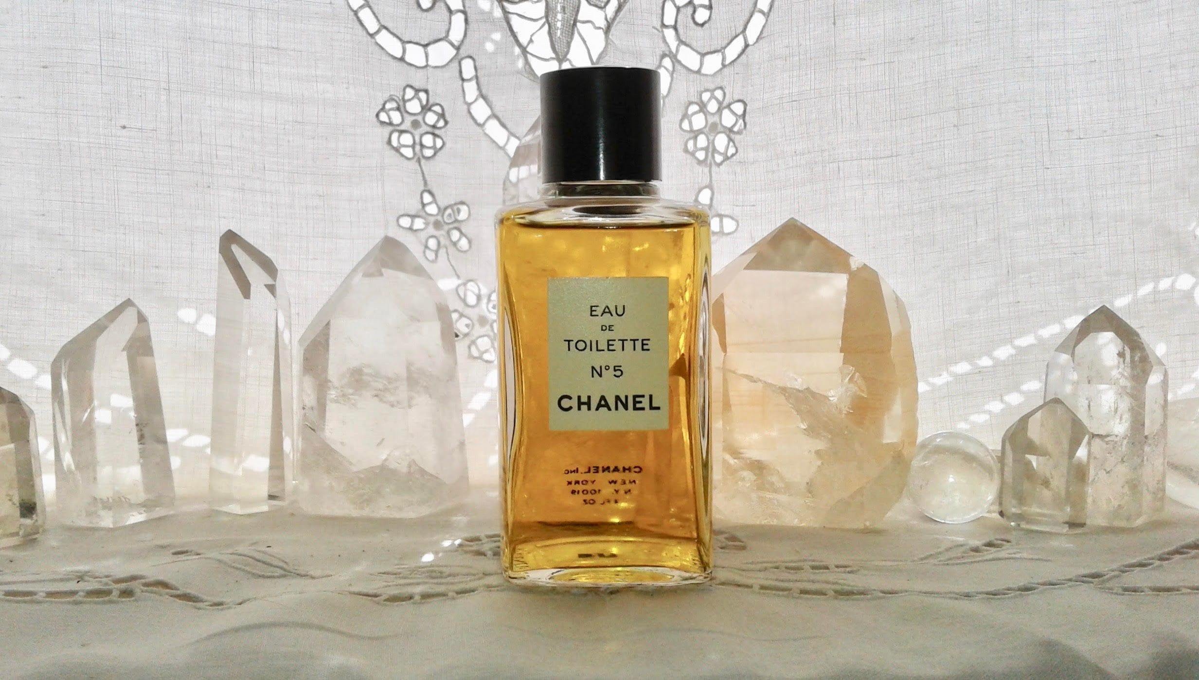Chanel No 5 120 Ml Or 4 Oz Flacon Eau De Toilette 1921 Etsy