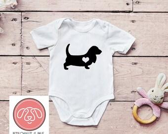 Basset hound baby | Etsy