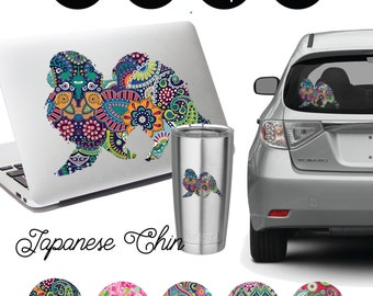Japanese Chin Decal