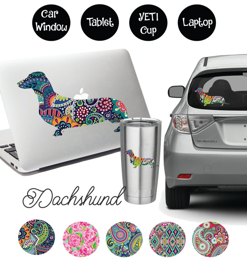 Dachshund Decal image 0