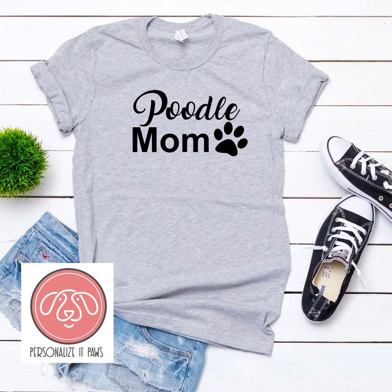 Unisex POODLE MOM T-SHIRT