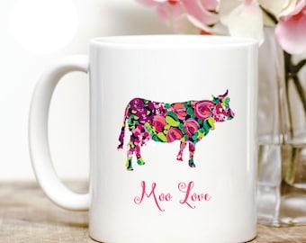 Moo love Cow Coffee Mug