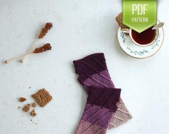 Ombre wristwarmers - gloves pattern - crochet wristwarmers - Ombre crochet wristwarmers - PDF crochet pattern
