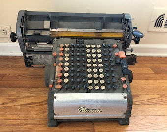 Vintage 1920's Adding Machine by MONROE
