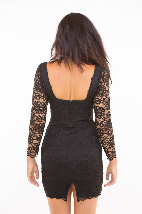 LBD HOT M Gorgeous S Cocktail Lace Size Dress drSar