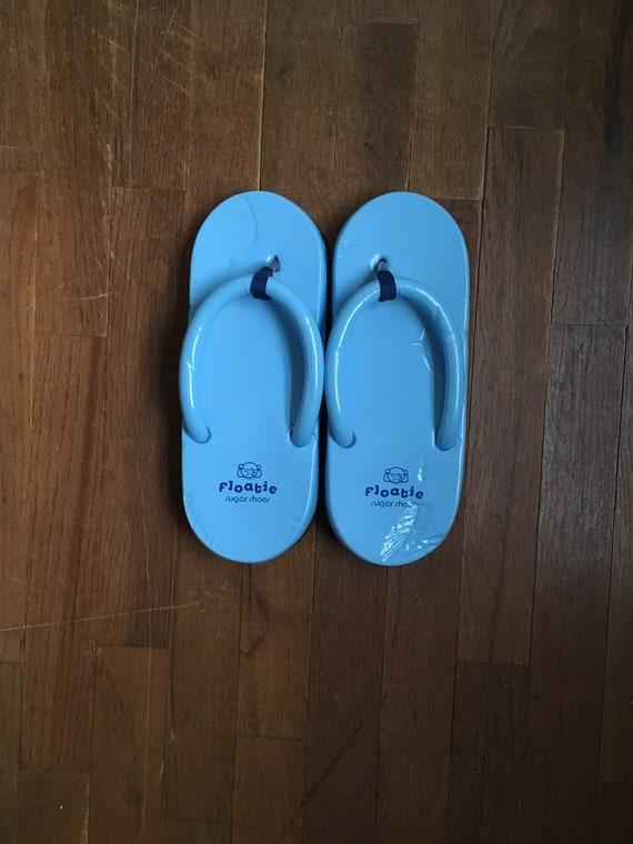 online store for whole family authorized site vintage 90s floatie sugar shoes flip flops sandals L