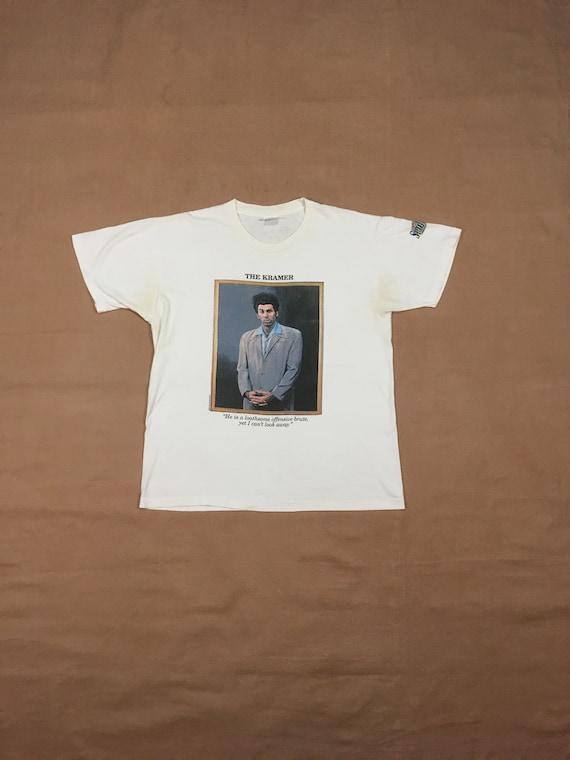 vintage 90s Seinfeld 1993 Kramer portrait loathsom