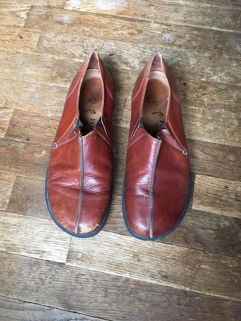 9e46fb33fb2d Vintage 90s womens footprints by birkenstock cambria slip on