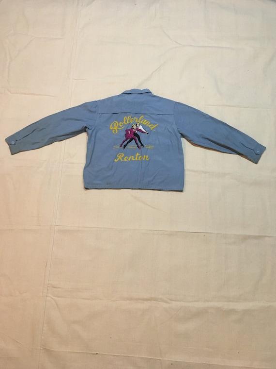 vintage 50s Sprtaster Seattle chain stitch Shirley