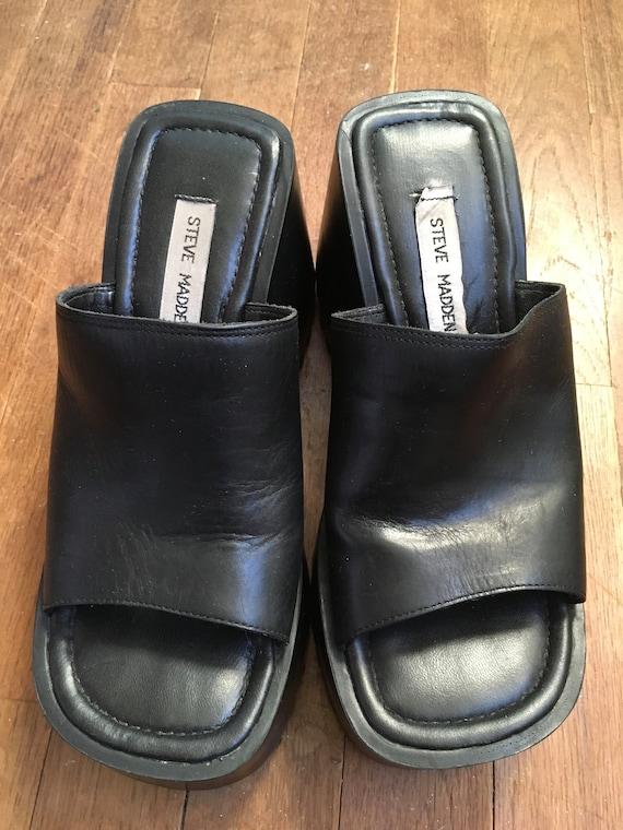 Vintage 90s steve madden pepe black