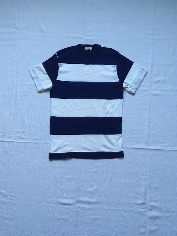 vintage 40s Jantzen sun clothes wide striped knit