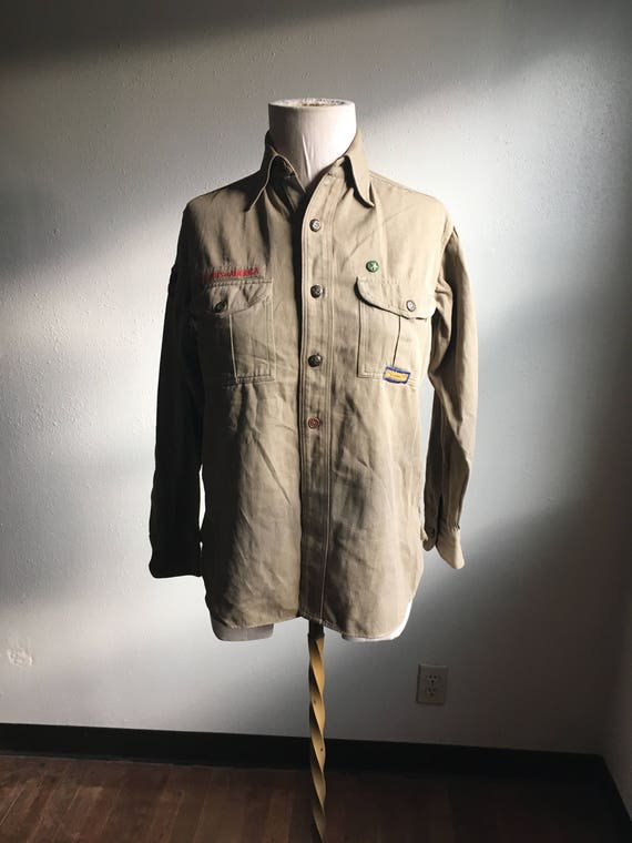 vintage sweet orr union made boyscouts of america