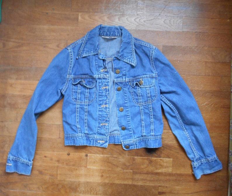 c961c3c3f9d Vintage 70s Lee Riders blue jean denim junior youth size