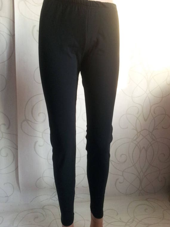 69364397500 SALE NEW Cotton Black Women s LeggingsLong Winter Thermal