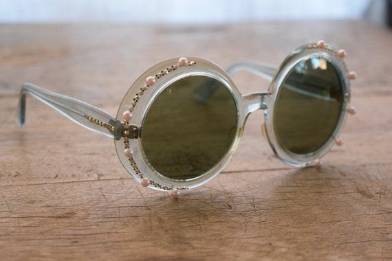 Rare 1950s Frame France Oversized Elton John Jewel