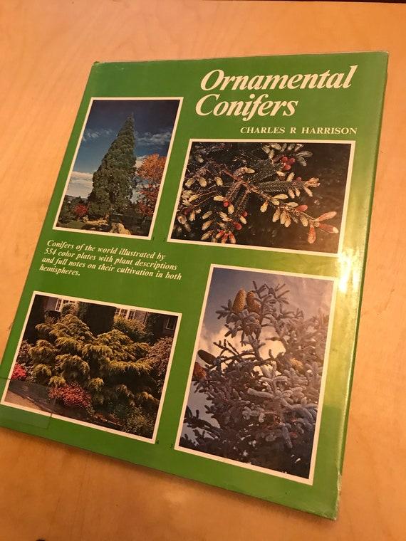 Ornamental Conifers Charles R Harrison Etsy
