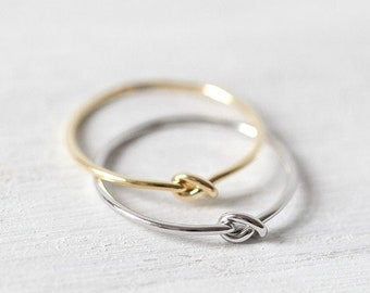 Ring »Knoten« | in the colours gold, silver or rose gold
