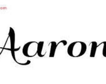 Re-Order for Aaron Parker