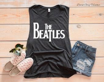 4d47dc98fc06bb The Beatles Women s Muscle Tank