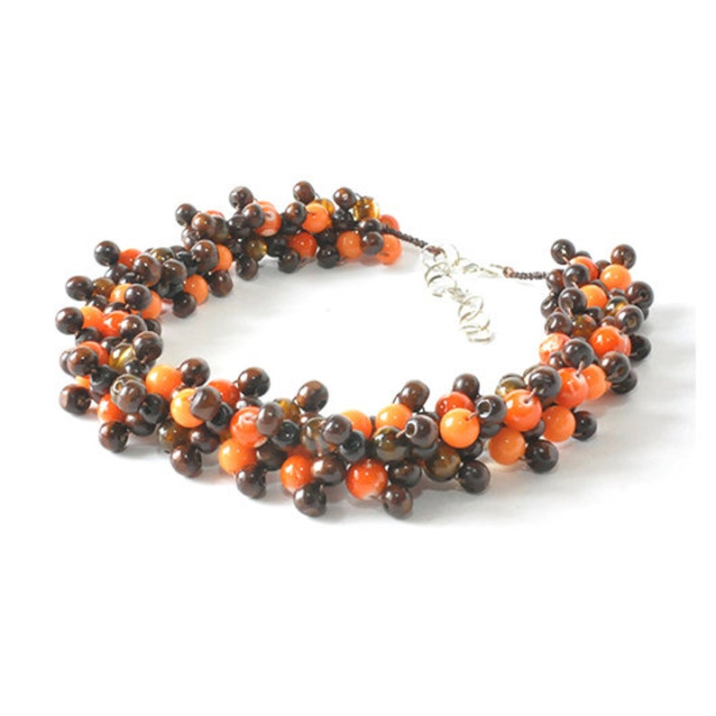 effective; wooden beads for a gift; 3286 3d necklace; light glass beads; every day