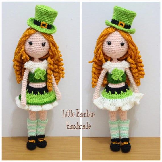Pattern Clover Girl Crochet Pattern Pdf Etsy