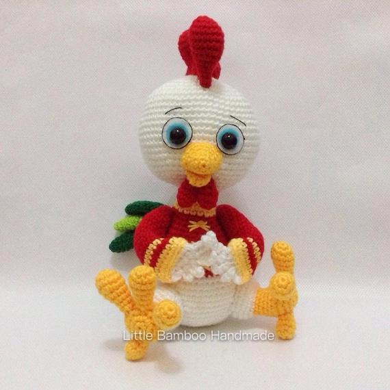 Pattern The Prosperity Rooster Crochet Pattern Pdf Etsy