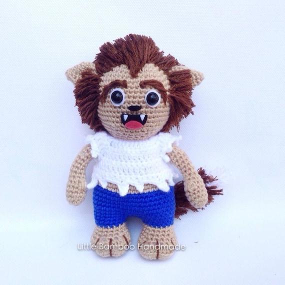 Pattern Werewolf Crochet Pattern Pdf Etsy