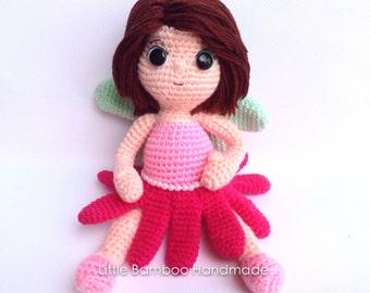 PATTERN-Spring Fairy-Crochet Pattern, pdf