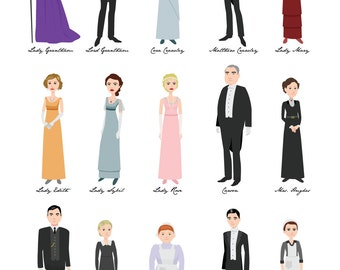 15 Downton Abbey Characters