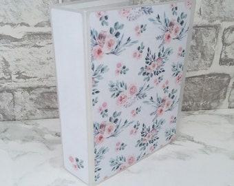 1 LEFT! Last Chance | FLEUR Sticker Album - Planner Sticker Storage, Mini Sheet Organise, Sticker Book, 4x6 Photo Album, Floral 6x4 Album