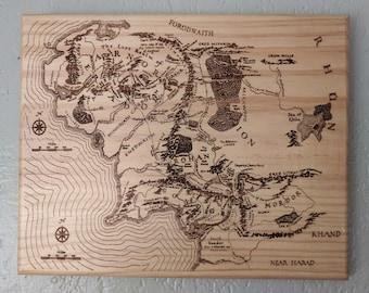 Lord of the rings   Etsy Bored Of The Rings Map on the hobbit map, the lord of the rings map, the silmarillion map,