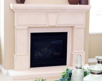 Yorkshire Stone Fireplace Mantel