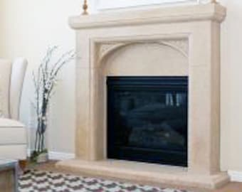 Bernalt Stone Fireplace Mantel
