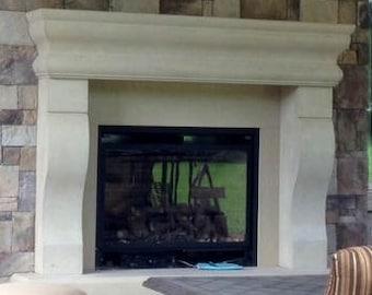 Vogue Stone Fireplace Mantel