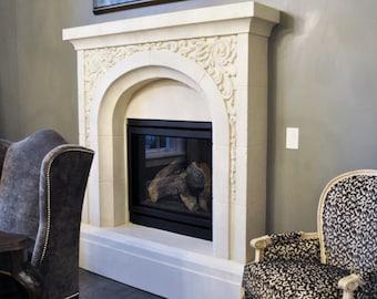 LaRee Stone Fireplace Mantel