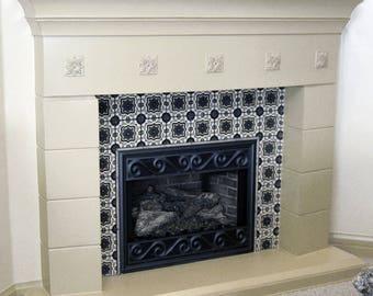 Cortege Stone Fireplace Mantel