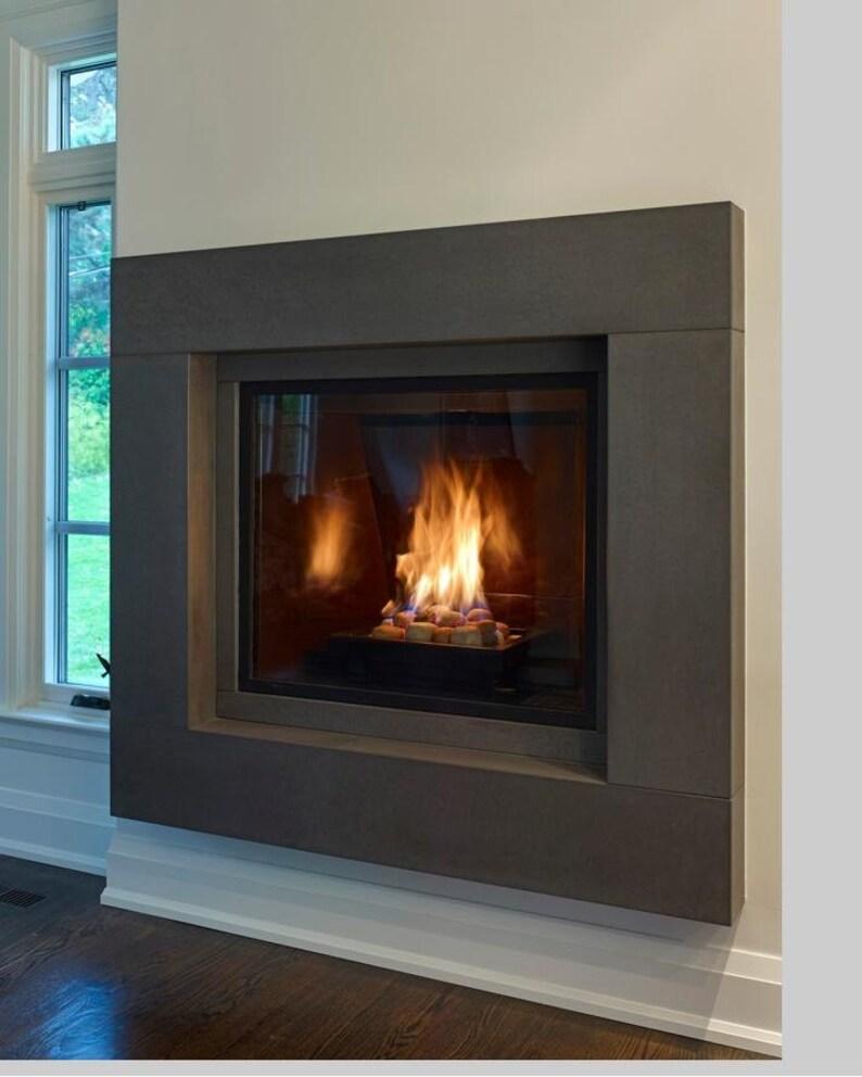 Maddox Stone Fireplace Mantel image 0