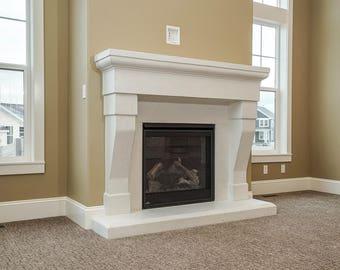 Eden Stone Fireplace Mantel