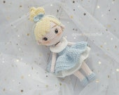 PATTERN Princess Amigurumi doll Crochet princess doll Cinder