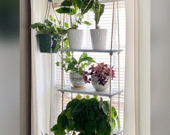 3 Tier Hanging Plant Shelf