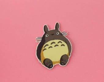 Totoro Pin [brooch lapel pin my neighbor totoro miyazaki studio ghibli]